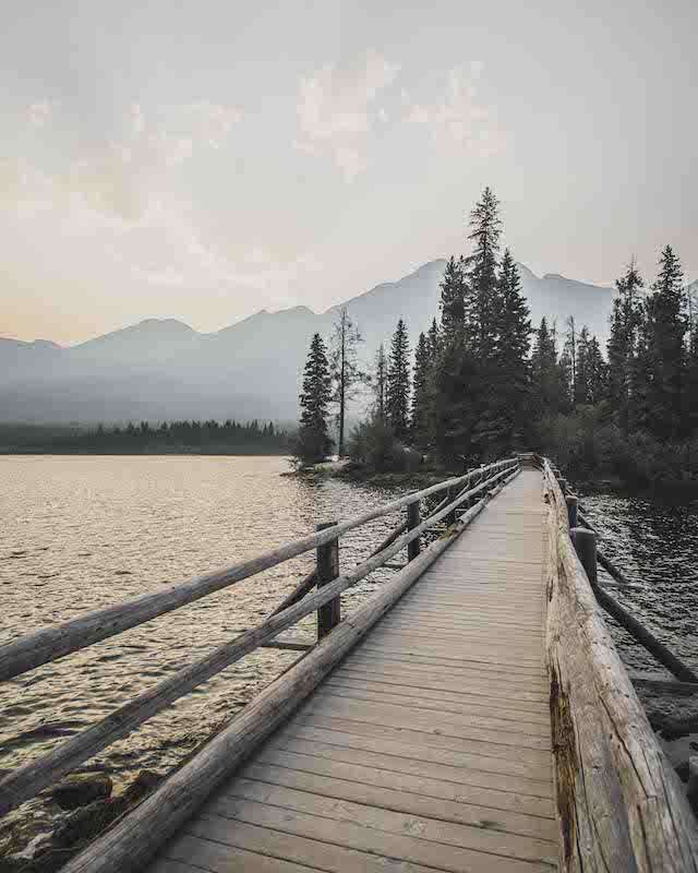 Pyramid Lake - racconto canada