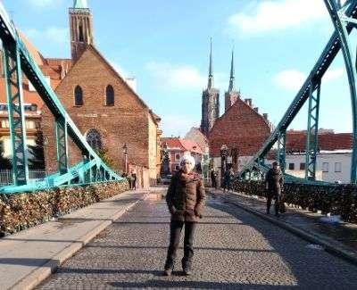 ponte dell'amore con catenacci