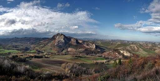 panorama del museo geologico all'aperto