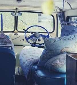 campeggio in furgone