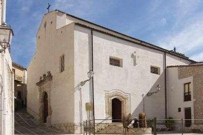 Esterno chiesa madre Sutera