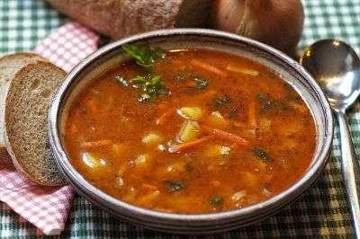 piatto di zuppa suterese