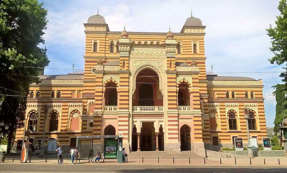 teatro dell'opera e del balletto Tbilisi