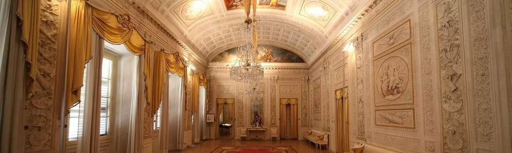 interno del palazzo milzetti