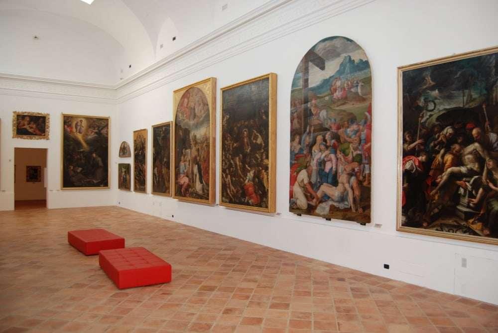 interno della pinacoteca