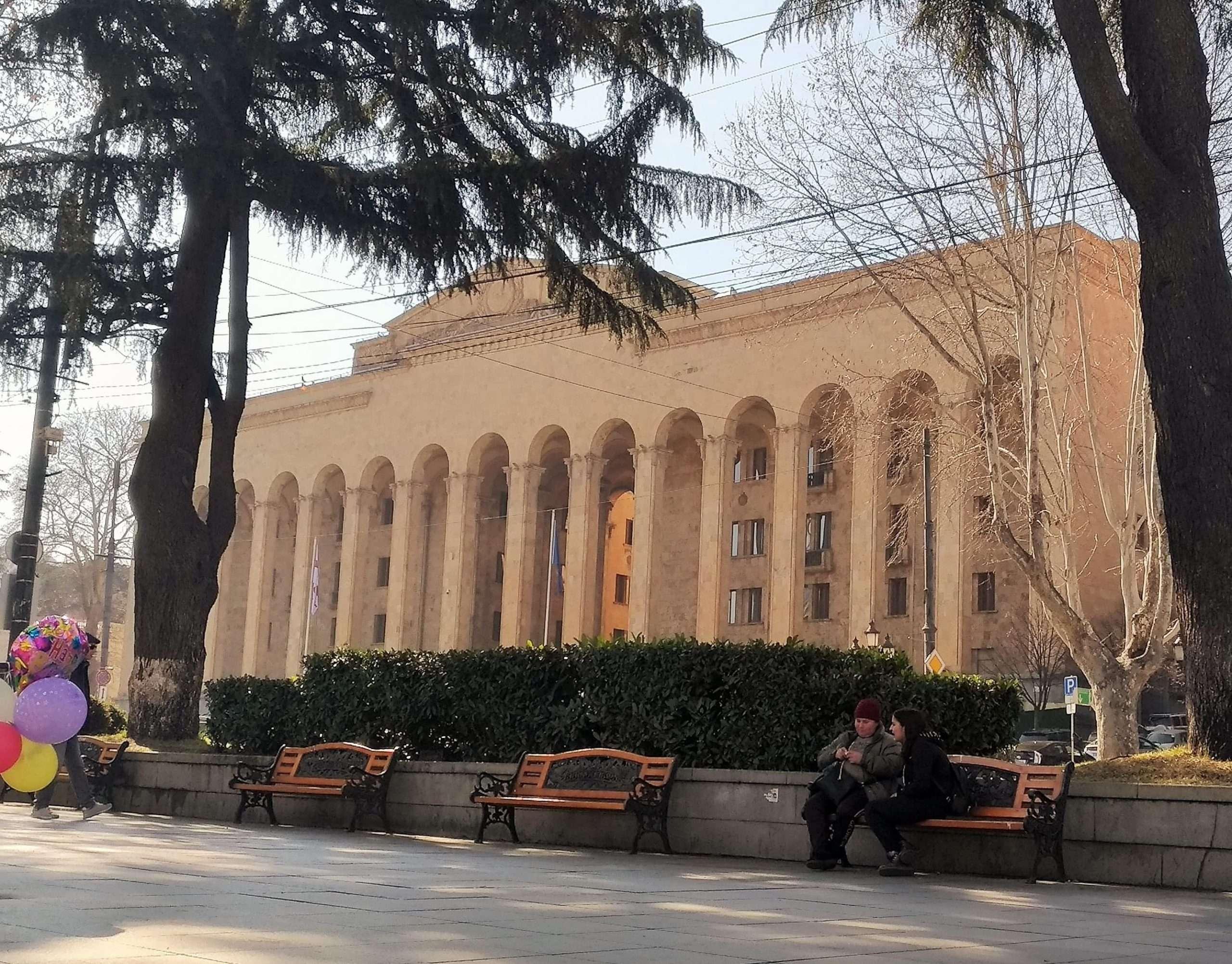 palazzo del parlamento Tbilisi