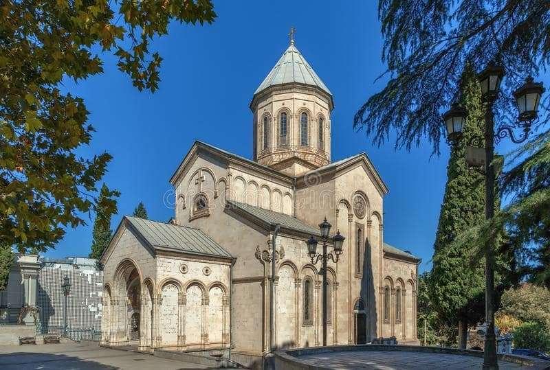 chiesa di Kashveti Tbilisi