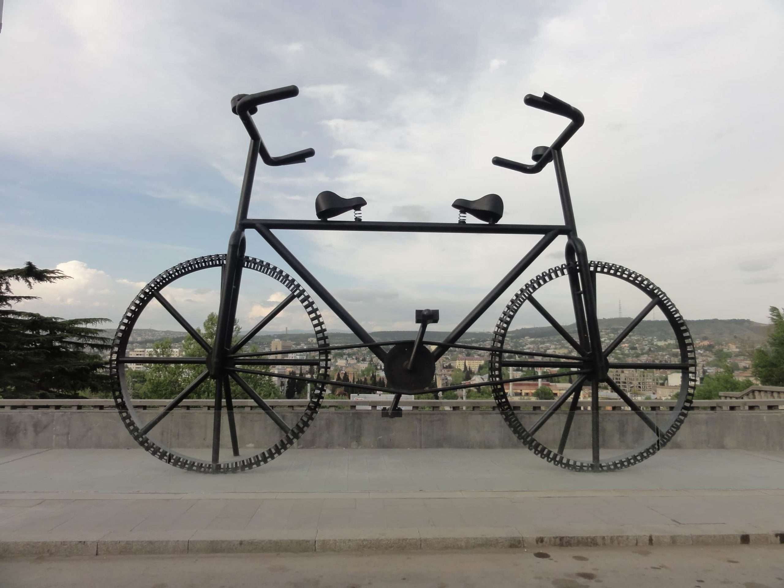 big bycicle monument