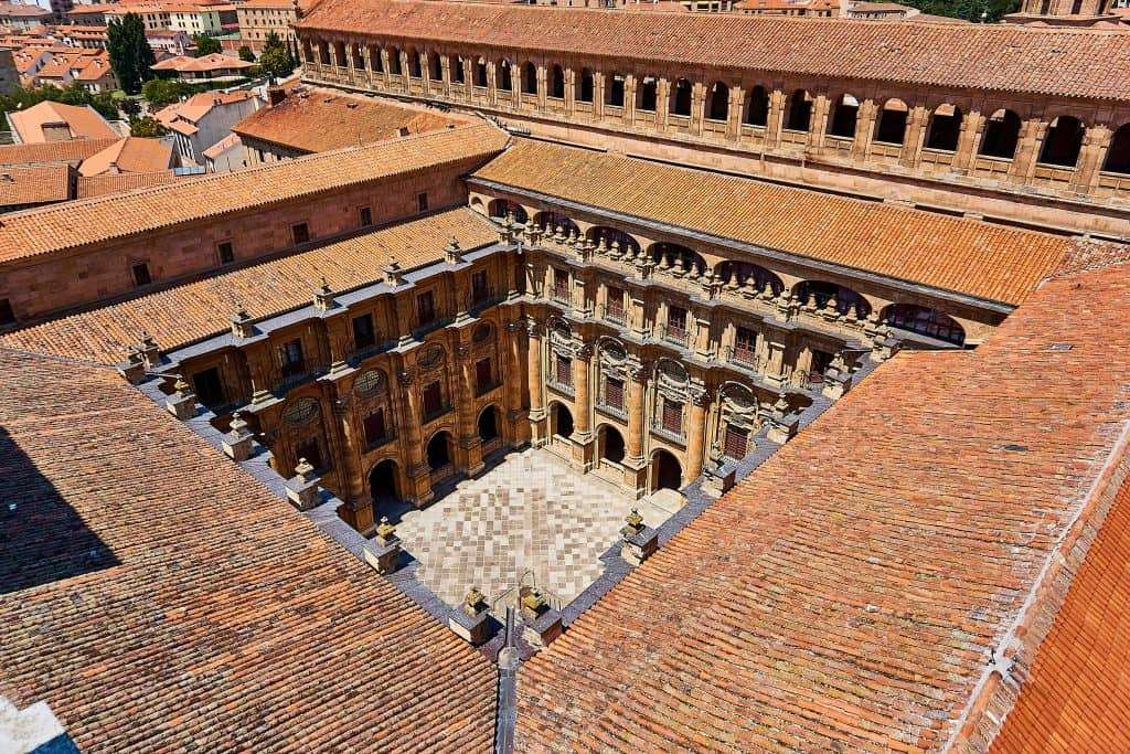 cortile università Salamanca