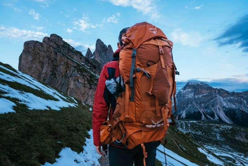 zaino da trekking- come preparare uno zaino