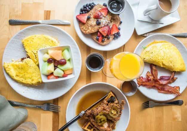 salute in viaggio: la colazione