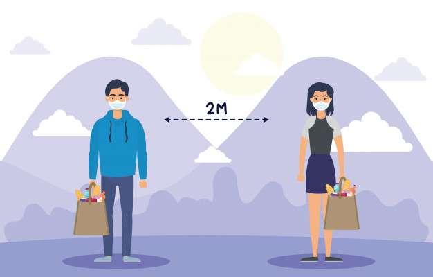 distanziamento sociale - prevenire il coronavirus