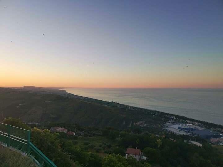 tramonto silvi