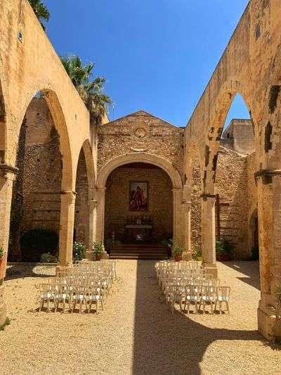 Chiesa senza tetto Siracusa, San Giovanni alle Catacombe