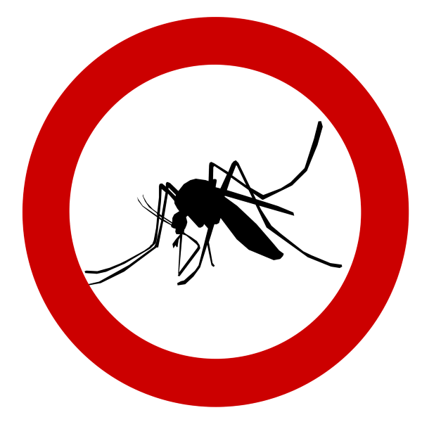 simbolo allerta alle zanzare