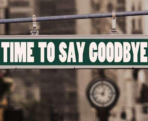 tempo di dire addio