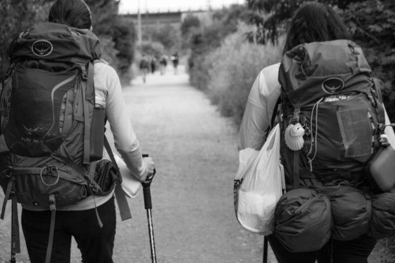 viaggiatrici con lo zaino
