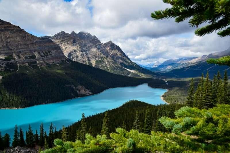 posti più belli del mondo peyto lake