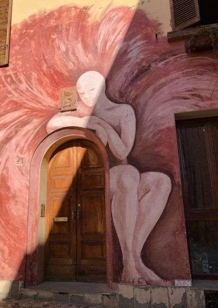 copertina murales di Dozza