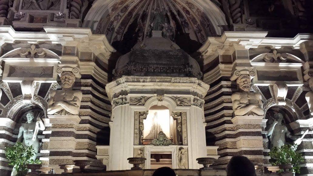 Fontana monumentale dell'organo a Villa d'Este a Tivoli
