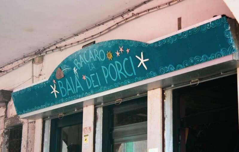 Cosa vedere e fare a Chioggia: in foto uno dei tanti bacari