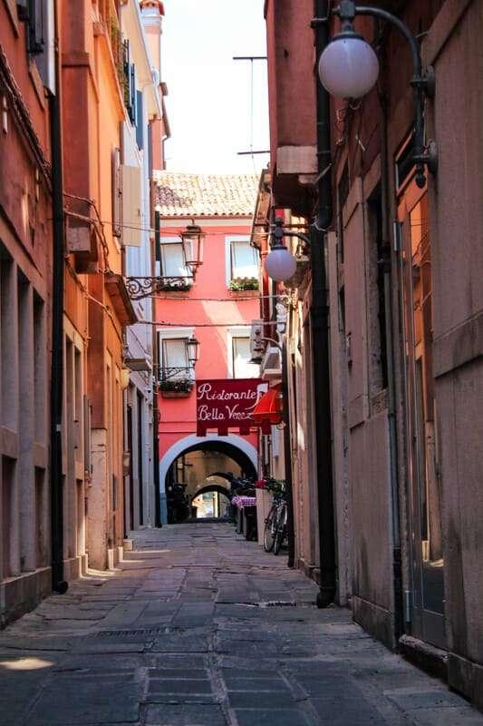 Cosa afre e cosa vedere a Chioggia: calle