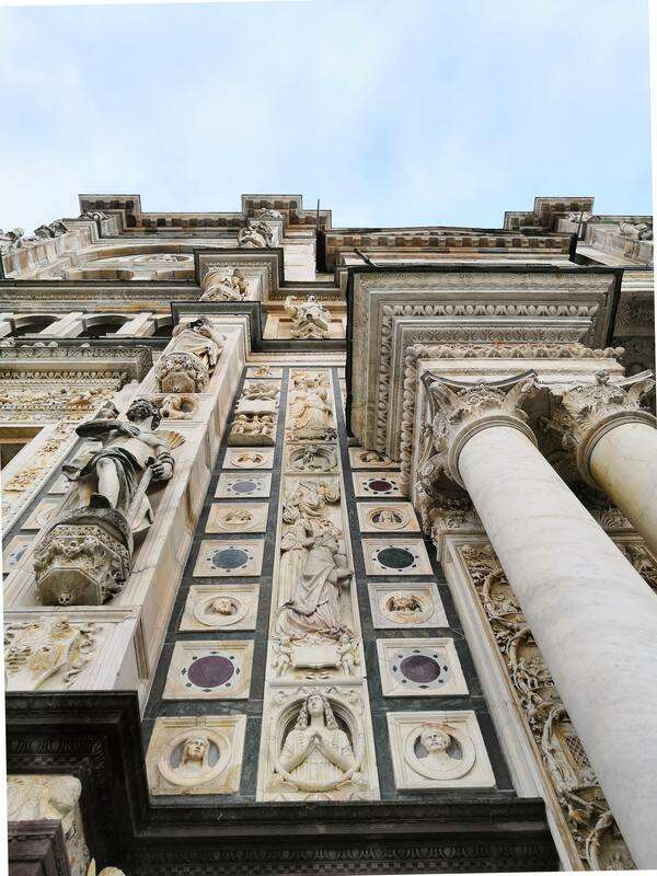 Dettaglio della Certosa di Pavia